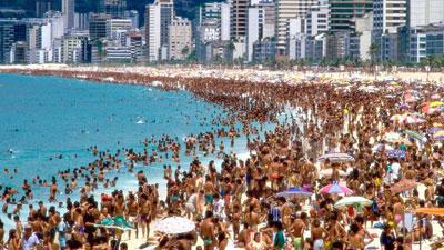 As 18 Praias mais movimentadas do Brasil